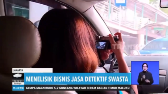 detektif wanita jessica eye detective indonesia liputan redaksi sore trans7
